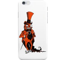 The Presumably Pompous Pumpkin Man iPhone Case/Skin