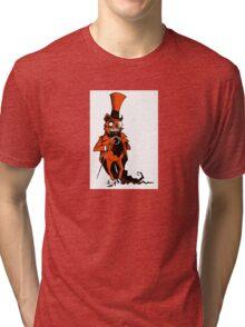 The Presumably Pompous Pumpkin Man Tri-blend T-Shirt