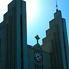 """Temples - """"The Church of Akureyri (IS)"""" by Denis Molodkin"""