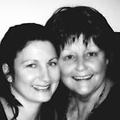 Kylie and Bev / mother and daughter  by bev langby