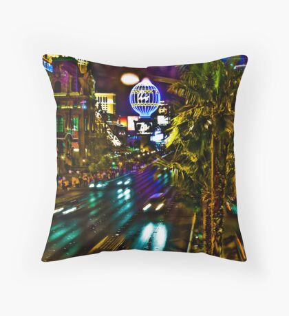 Electric Avenue Throw Pillow