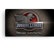 Jurassic League Canvas Print