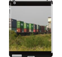 Transporting the Crops iPad Case/Skin