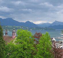 Luzern, Switzerland by Elena Skvortsova