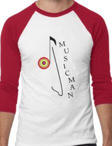 Musicman. Men's Baseball ¾ T-Shirt