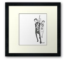xo soldiers Framed Print