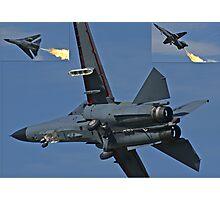 F-111 Montage Photographic Print