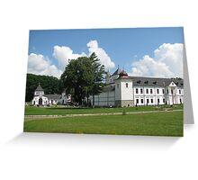 Univ Monastery Greeting Card