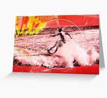 Sand Surfer Greeting Card