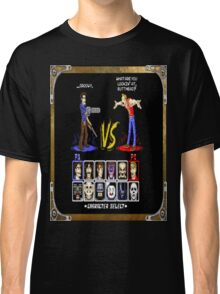 geeky character select Classic T-Shirt