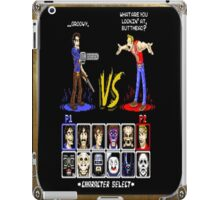 geeky character select iPad Case/Skin