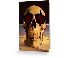 Alice Cooper's Skull Greeting Card