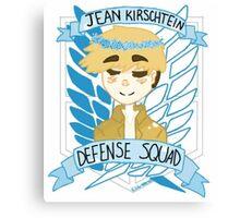 Jean Kirschtein Defense Squad Canvas Print