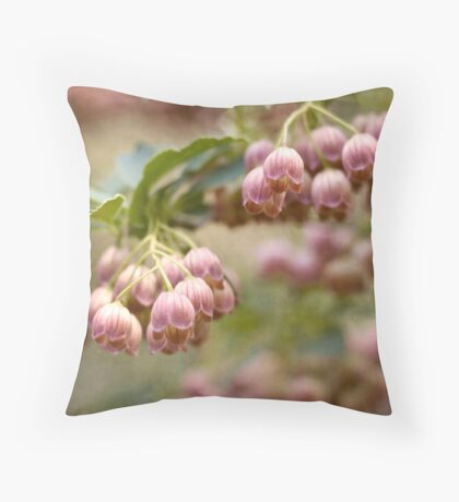 Enkianthus Campanulatus Throw Pillow