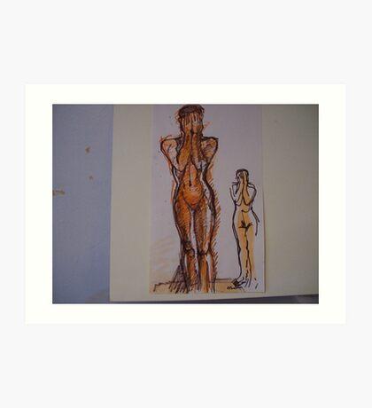 NUDES Art Print