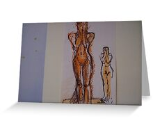 NUDES Greeting Card
