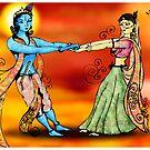 Radhe Krishna by archys Design