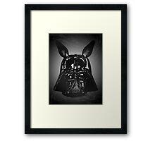Dark Bunny Side Framed Print