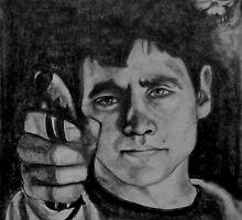 Donnie Darko Drawing by Brianna Sickles