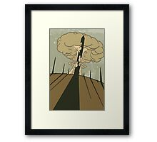 Fallout; War, War Never Changes Framed Print