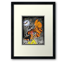 Dance of the Hamburglar, or, Do the Robble Robble Framed Print