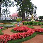 Monplaisir garden by Elena Skvortsova