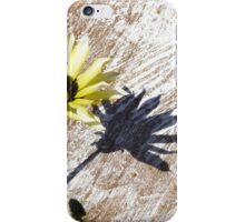 Flower Getting Some Rays iPhone Case/Skin