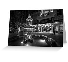 Rundle Mall Fountain Greeting Card