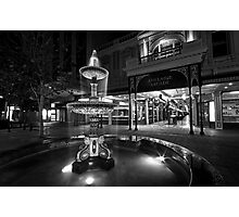 Rundle Mall Fountain Photographic Print