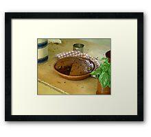 Gingerbread, Anyone? Framed Print