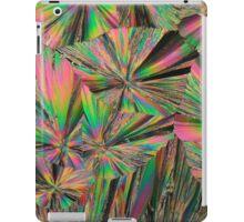 Gadolinium nitrate crystals under the microscope iPad Case/Skin