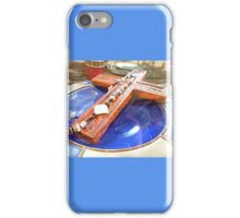 *Large cross in Glass Cabinet* iPhone Case/Skin