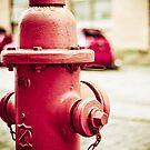 Red Hydrant by Jonathan Sullivan