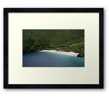 Keem Bay, Achill, Ireland Framed Print