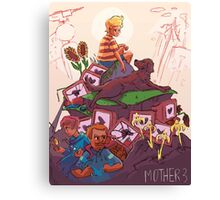 WELCOME TO MOTHER 3 Canvas Print