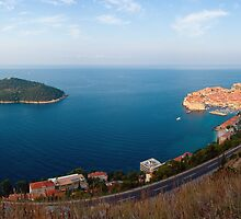 Dubrovnik and Lokrum by Ivan Coric