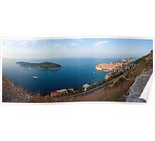 Dubrovnik and Lokrum Poster