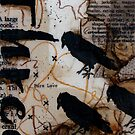 Crow Count Three by ladycrow4