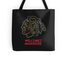 Madhouse Chicago Blackhawks Tote Bag