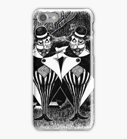 Tweedledum and eedeldeewT iPhone Case/Skin