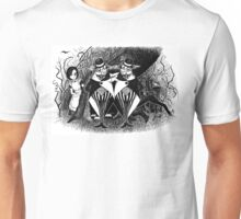 Tweedledum and eedeldeewT Unisex T-Shirt
