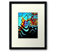 BUSINESS AS USUAL 1.0 Framed Print