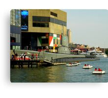 Colors Of Baltimore ~ Part One Canvas Print