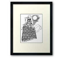 The Wrath of Humpty Dumpty Framed Print
