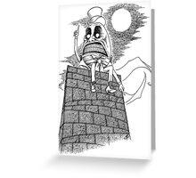 The Wrath of Humpty Dumpty Greeting Card