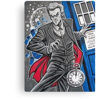 "The Twelfth Doctor (""All Thirteen!"") Canvas Print"