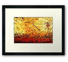 Hell Fire Framed Print