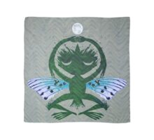 Haunted Solstice Moon Winged Thing Scarf