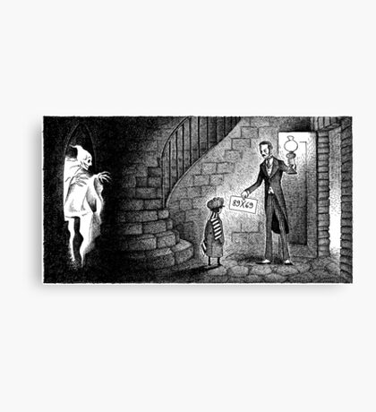 Cellar Ghost Canvas Print