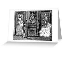 Headless Ghost Greeting Card